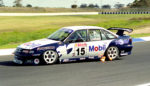 Craig Lowndes debut at Calder Park Raceway in the HRT VR Commodore