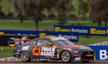 Tyre pressures cost Holdsworth on Shootout lap