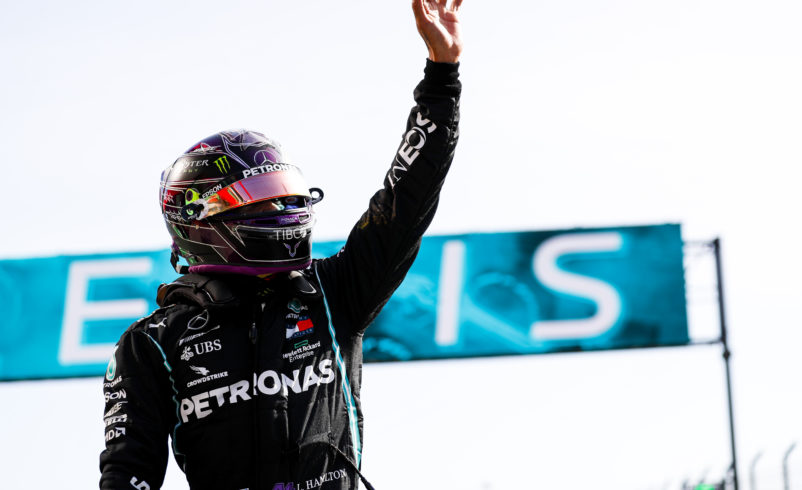 Hamilton recovers to win record-breaking race in Portugal