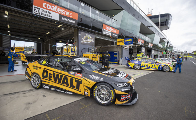 Team 18 can 'get amongst it' with move up pit lane