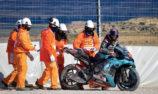 Cold weather wreaks havoc in Aragon MotoGP practice