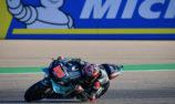 Quartararo defies injury and Viñales to claim Aragon pole