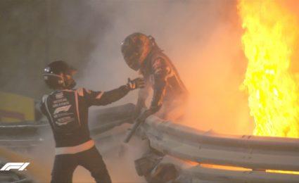 F1 doctor recounts Grosjean rescue