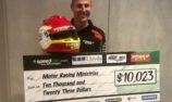 More than $10,000 raised through helmet auction