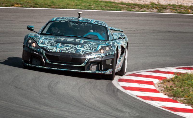 Nico Rosberg test drives his new hypercar