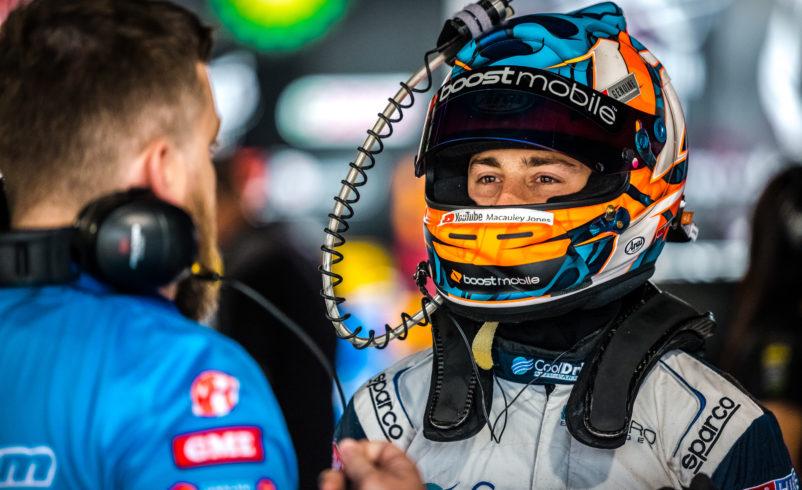 Jones targets marked improvement in third Supercars season