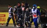 Grosjean thought of children, Lauda in fiery Bahrain escape