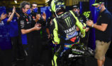 Outgoing Rossi 'thankful' for Yamaha after torrid Ducati spell