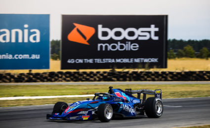 Symmons lap record under threat after S5000 practice