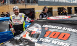 TCM WRAP: 100 race wins for Bowe