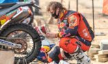 Price relieved to make finish on patched-up tyre