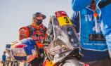 Price affected by fuel contamination on Dakar Stage 2